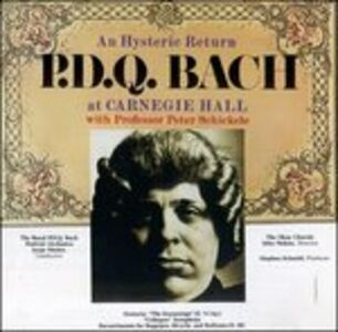 CD A Hysteric Return di P.D.Q. Bach