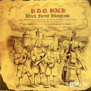 Foto Cover di Black Forest Bluegrass, CD di P.D.Q. Bach, prodotto da Vanguard