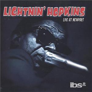 CD Live at Newport di Lightnin' Hopkins