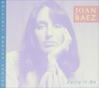 Carry It On - CD Audio di Joan Baez