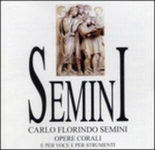 CD Opere Corali per Voce e Strumenti di Carlo Florindo Semini