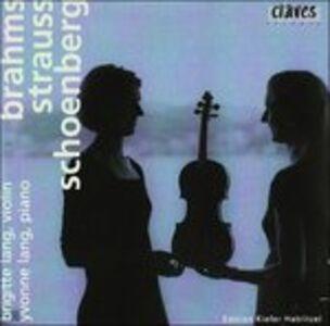 CD Fantasia X Vl e Pf Op.47 di Arnold Schönberg