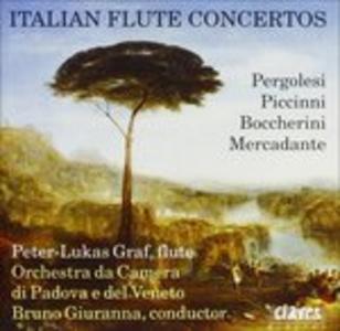 CD Concerto X fl di Luigi Boccherini