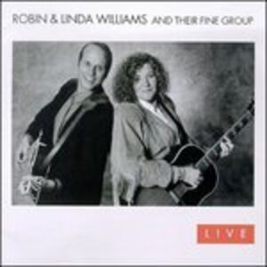 Foto Cover di Live, CD di Robin Williams,Linda Williams, prodotto da Sugar Hill