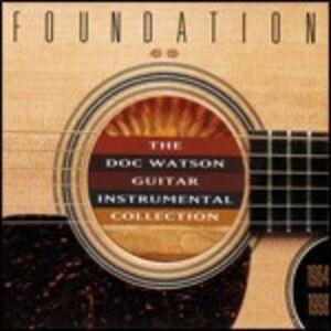 CD Foundation. The Doc Watson Guitar Instrumental Collection di Doc Watson
