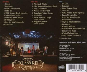 Reckless Kelly Was Here - CD Audio di Reckless Kelly - 2