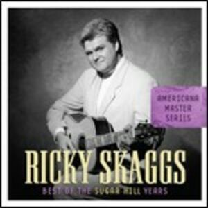 CD Best of Sugar Hill Years di Ricky Skaggs
