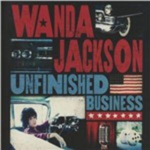 CD Unfinished Business di Wanda Jackson