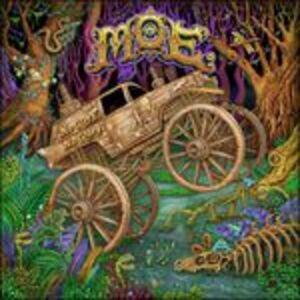 Foto Cover di No Guts, No Glory, CD di moe., prodotto da Sugar Hill
