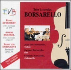 CD Serenata Op.10 di Erno Dohnanyi