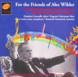 CD For the Friends of Alec Wilder di Alec Wilder