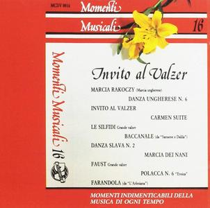 CD Momenti Musicali vol.16 Invito Al Valzer di Jean Bollanger