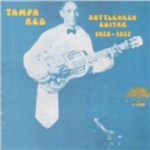 Foto Cover di Bottleneck Guitar 1928-37, CD di Tampa Red, prodotto da Yazoo Record Company
