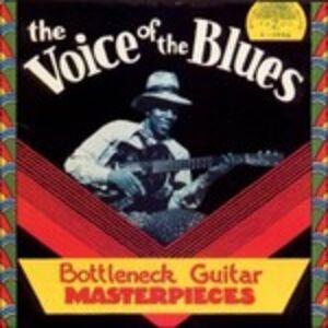 CD The Voice of the Blues. Bottleneck Guitar Materpieces