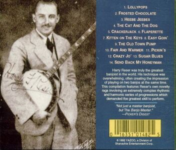 CD Banjo Crackerjax di Harry Reser 1