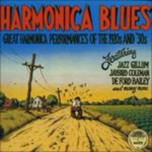 Harmonika Blues - CD Audio