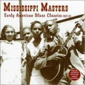 Mississippi Masters - CD Audio