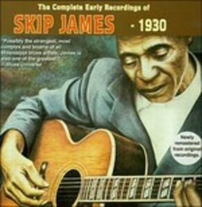 Foto Cover di Complete Early Recordings 1930, CD di Skip James, prodotto da Yazoo