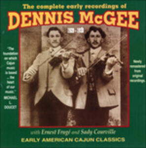 Complete Early Recordings - CD Audio di Dennis McGee