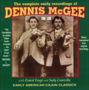CD Complete Early Recordings di Dennis McGee