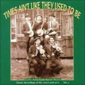 Foto Cover di Times Ain't Like They Used to Be vol.4, CD di  prodotto da Yazoo Record Company 0