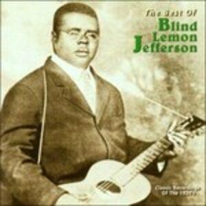 CD Best of. The Yazoo Years di Blind Lemon Jefferson