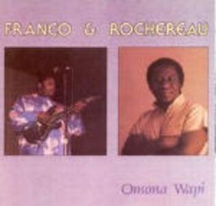 Foto Cover di Omona Wapi, CD di Tabu Ley Rochereau,Franco, prodotto da Shanachie