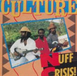 Foto Cover di Nuff Crisis, CD di Culture, prodotto da Shanachie