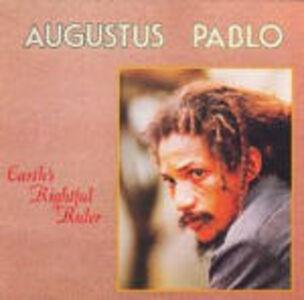 Foto Cover di Eatyh's Rightful Ruler, CD di Augustus Pablo, prodotto da Shanachie