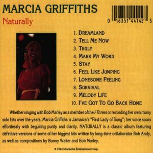 CD Naturally di Marcia Griffiths 1