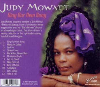 CD Sing Our Own Song di Judy Mowatt 1