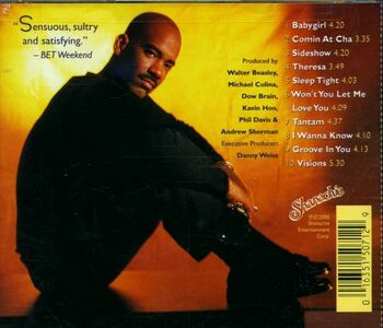 CD Won't You Let Me Love You di Walter Beasley 1