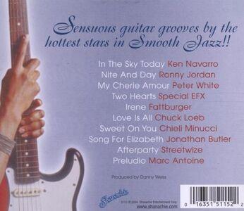 Foto Cover di Sensuous Smooth Jazz Guitar, CD di  prodotto da Shanachie 1