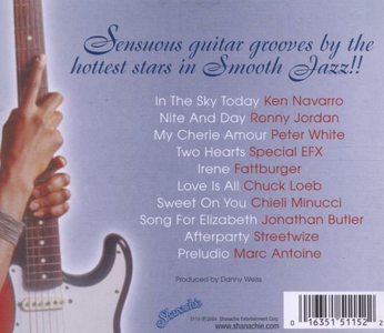 CD Sensuous Smooth Jazz Guitar  1