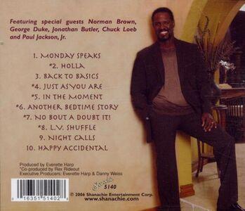 CD In the Moment di Everette Harp 1