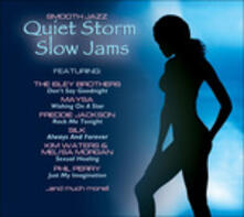 Quiet Storm Slow Jams - CD Audio
