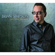 Just What You Need - CD Audio di Brian Simpson
