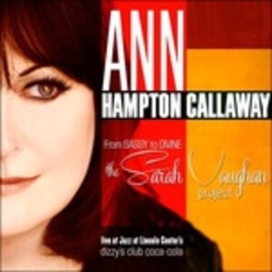 CD From Sassy to Divine di Ann Hampton Callaway