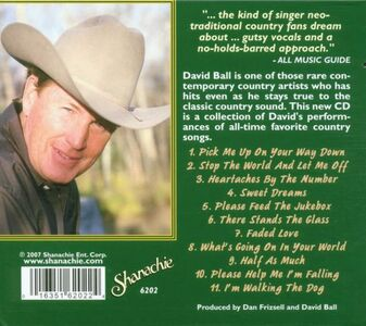 CD Heartaches by the Number di David Ball 1