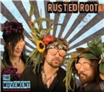 Foto Cover di The Movement, CD di Rusted Root, prodotto da Shanachie