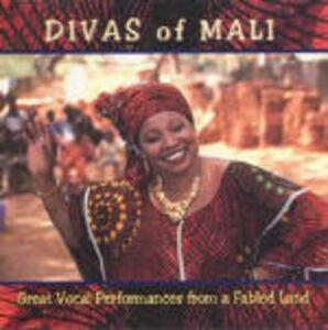 Foto Cover di Divas of Mali, CD di  prodotto da Shanachie