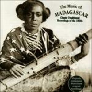 CD Music of Madagascar