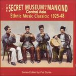 CD The Secret Museum of Mankind. Central Asia