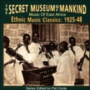 Foto Cover di The Secret Museum of Mankind. Music of East Africa, CD di  prodotto da Yazoo
