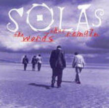 The Words That Remain - CD Audio di Solas