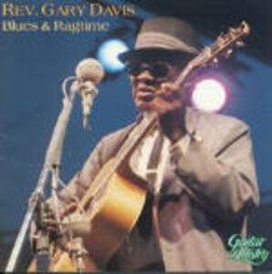 CD Blues & Ragtime di Reverend Gary Davis