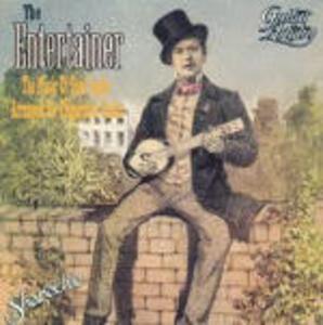 The Entertainer: The Music of Scott Joplin Arranged for Fingerstyle Guitar - CD Audio