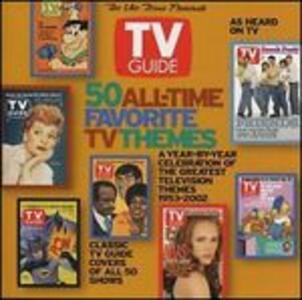 50 All Time Favorite TV Tracks (Colonna Sonora) - CD Audio