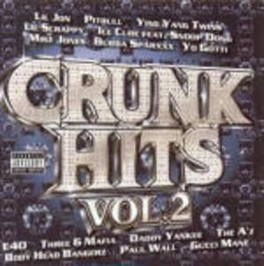 Crunk Hits vol.2 - CD Audio