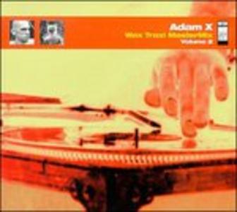 CD Wax Trax Mastermix di Adam X